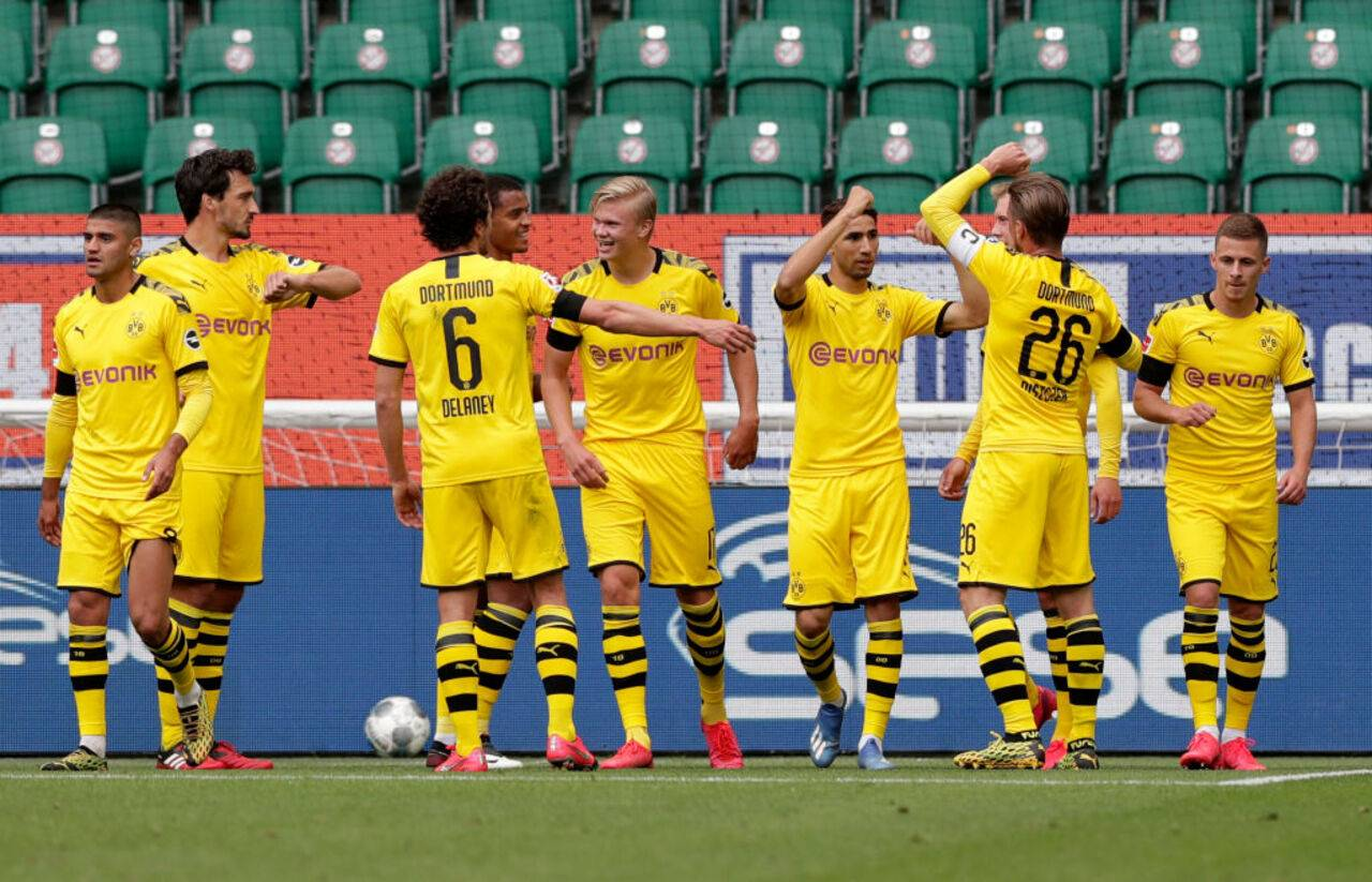 Spielstand Dortmund Wolfsburg