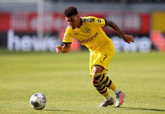 Jadon Sancho- Transfer- Manchester United- Confident