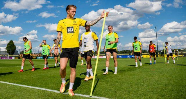 Reus-Dortmund-Team-Training-Return