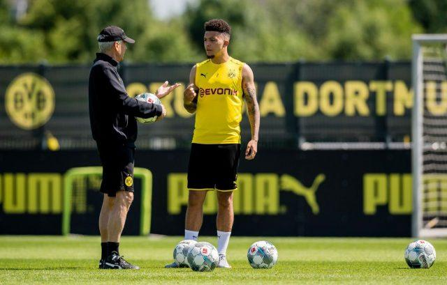 sancho-dortmund-training