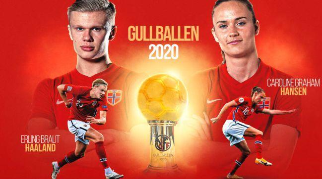 Erling-Haaland-Footballer-Year-Award-Norway